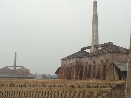 Những lò gạch không phép đang tồn tại trên địa bàn huyện Sóc Sơn