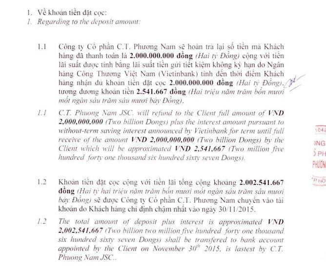 Chủ đầu tư Léman Luxury Apartment sẽ kiện ngược lại Thu Minh