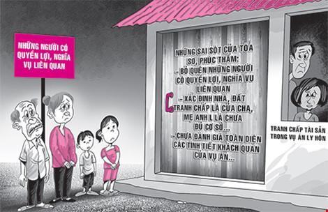 Cha mẹ chồng cũ đòi nhà đất