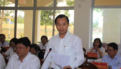 Bí thư Thành uỷ Đà Nẵng Nguyễn Xuân Anh kết luận cuộc làm việc.