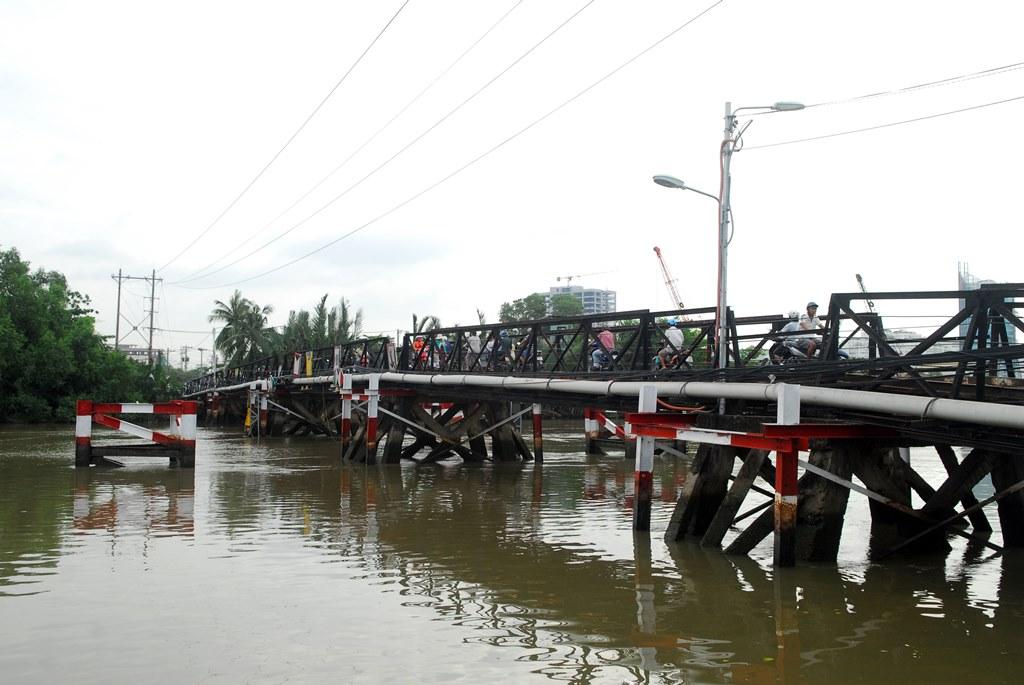 TP.HCM: hiện hữu xây mới cầu Rạch Đỉa và Long Kiểng vào đầu năm 2018