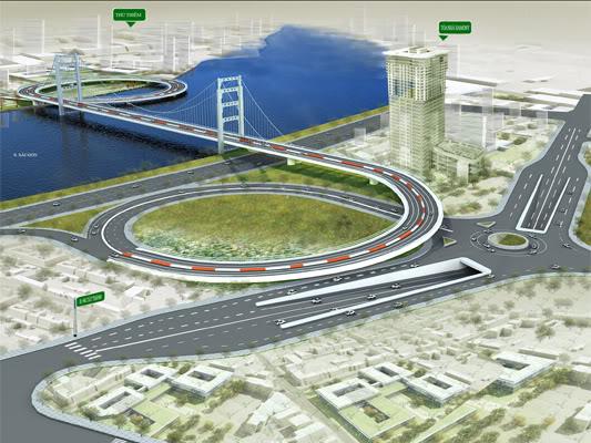 TP.HCM: Chấp thuận xây cầu Thủ Thiêm 3