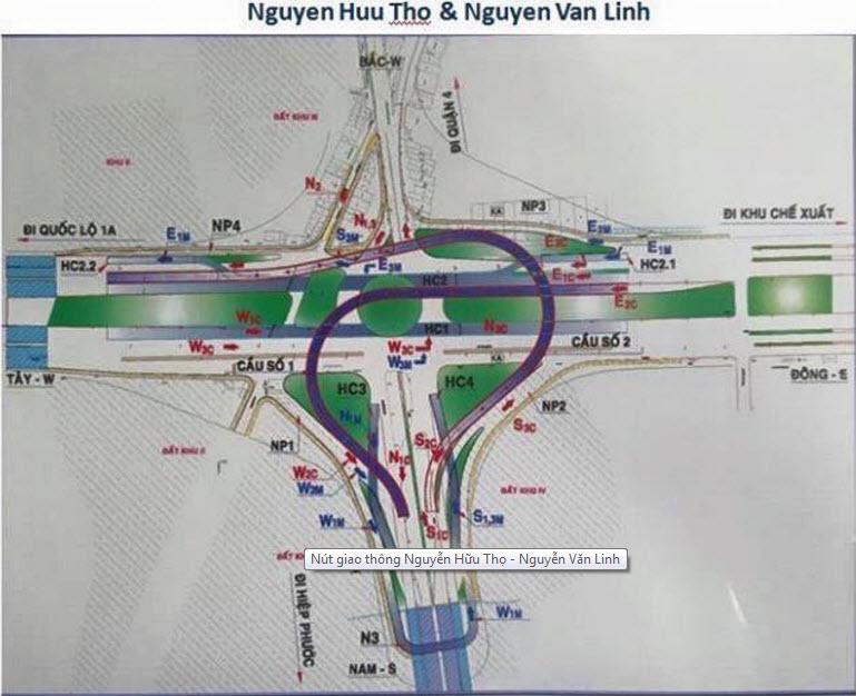 TP.HCM: 839 tỷ đồng xây hầm chui Nguyễn Văn Linh – Nguyễn Hữu Thọ