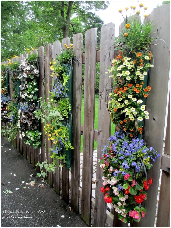 hinhanhhangrao2 1476871977 8 ý tưởng độc đáo giúp trang trí cho hàng rào