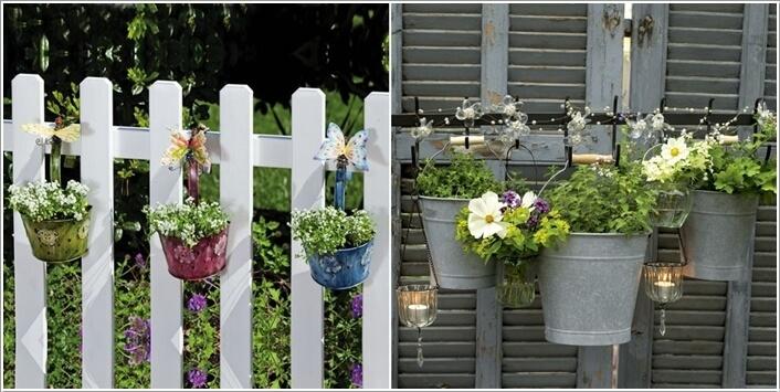 hinhanhhangrao6 1476872082 8 ý tưởng độc đáo giúp trang trí cho hàng rào