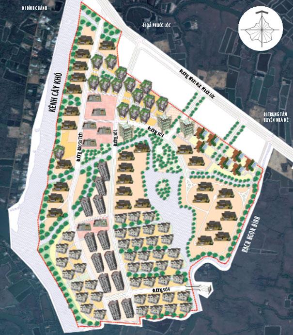 Duyệt nhiệm vụ quy hoạch phân khu tỷ lệ 1/2000 Khu dân cư trung tâm xã Phước Lộc, huyện Nhà Bè