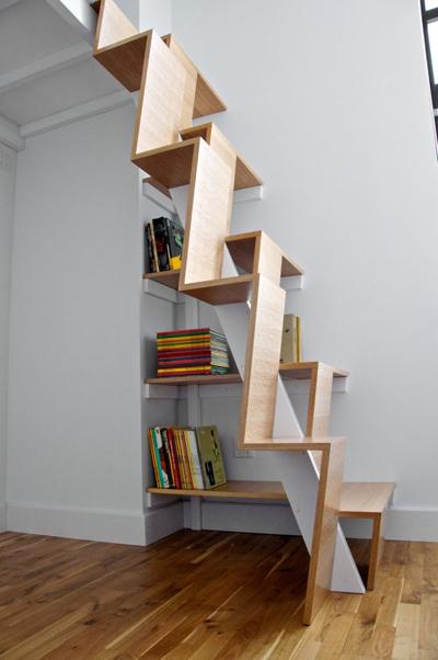 Các cầu thang đẹp nhưng người dùng run chân