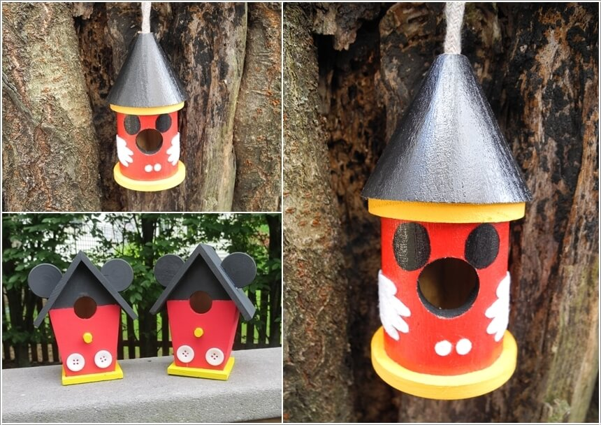 ngoai that 10 1478601163 Thiết kế mẫu sân vườn lấy cảm hứng từ nhân vật chuột Mickey