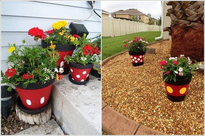 ngoai that 4 1478601081 Thiết kế mẫu sân vườn lấy cảm hứng từ nhân vật chuột Mickey