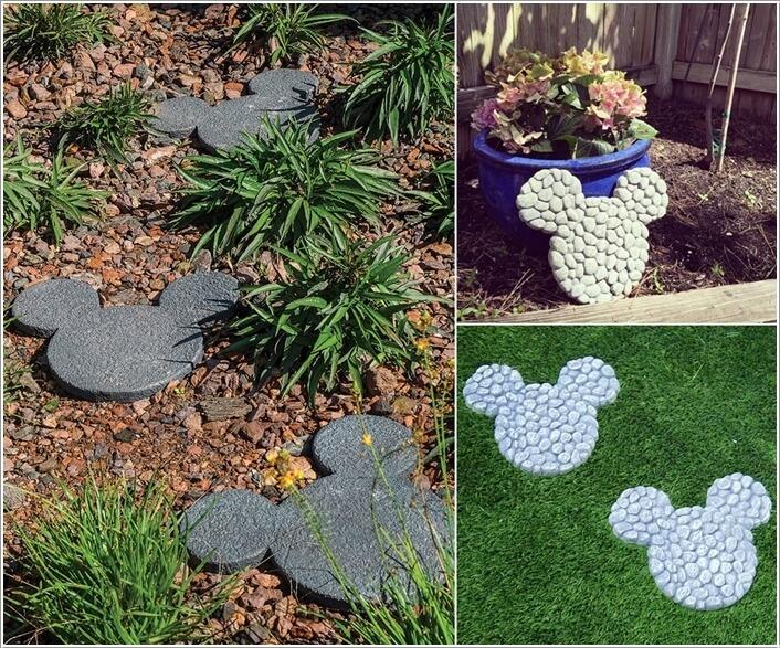ngoai that 6 1478601101 Thiết kế mẫu sân vườn lấy cảm hứng từ nhân vật chuột Mickey
