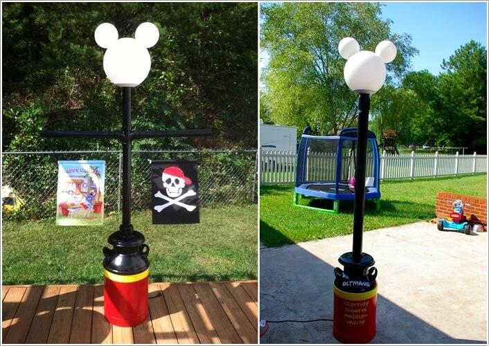 ngoai that 8 1478601143 Thiết kế mẫu sân vườn lấy cảm hứng từ nhân vật chuột Mickey