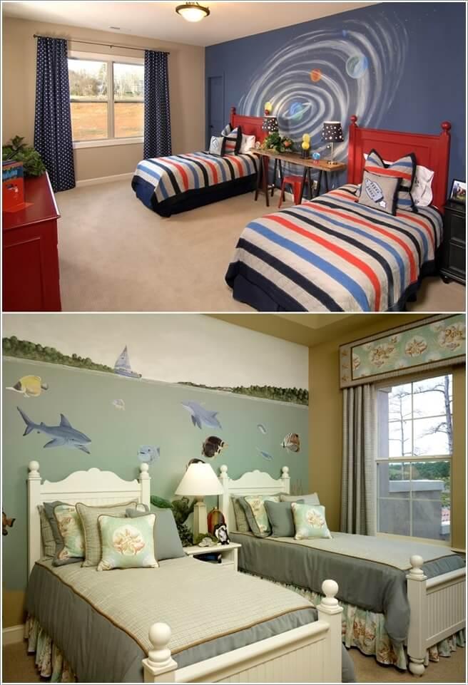 tuong dep 10 1478796994 Thử sáng tạo với tranh tường trang trí cho nhà đẹp