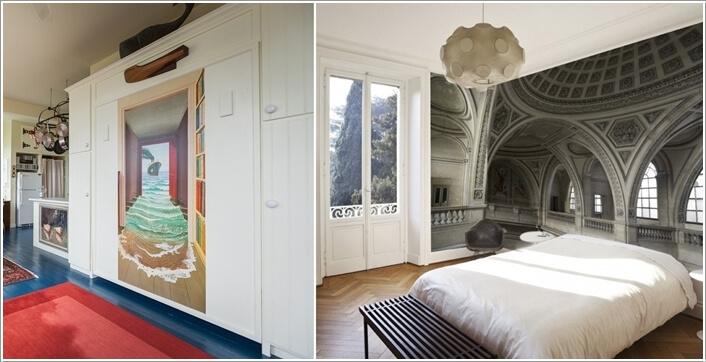 tuong dep 7 1478797089 Thử sáng tạo với tranh tường trang trí cho nhà đẹp