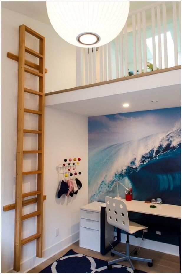 tuong dep8 1478797111 Thử sáng tạo với tranh tường trang trí cho nhà đẹp