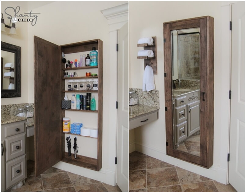 phong tam 2 1480417737 Cách để tạo không gian lưu trữ trong phòng tắm