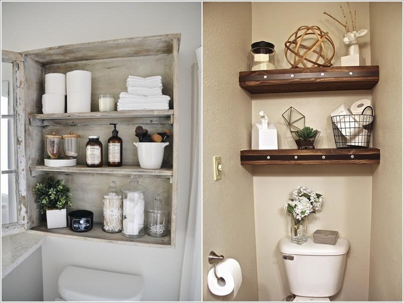 phong tam 4 1480417771 Cách để tạo không gian lưu trữ trong phòng tắm