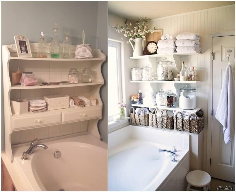 phong tam 9 1480417849 Cách để tạo không gian lưu trữ trong phòng tắm