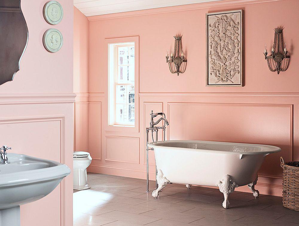 phong tam1 1480760470 Xu hướng kết hợp với sắc xám ở trong phòng tắm