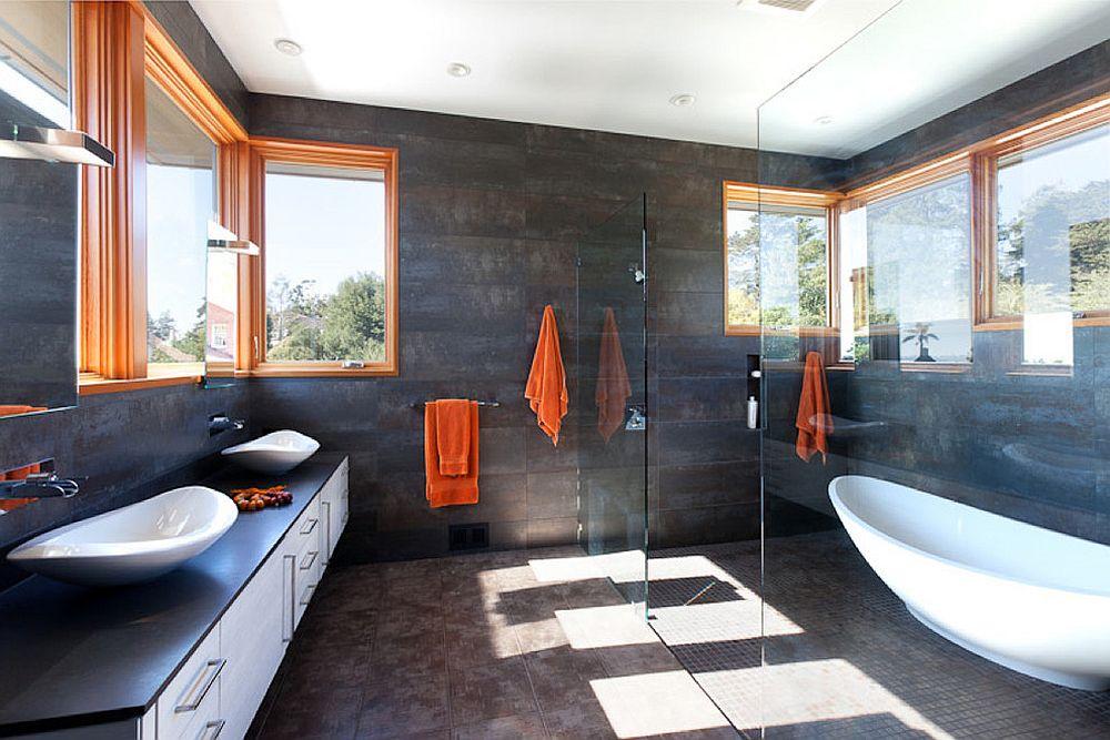 phong tam10 1480760923 Xu hướng kết hợp với sắc xám ở trong phòng tắm