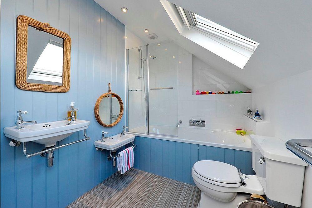phong tam5 1480760778 Xu hướng kết hợp với sắc xám ở trong phòng tắm
