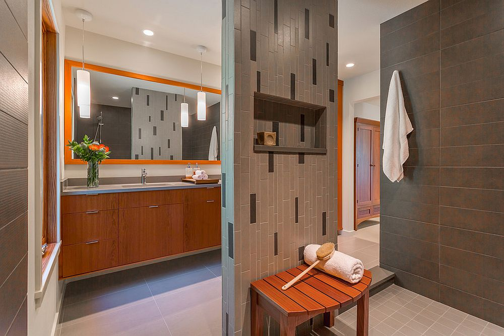 phong tam9 1480760900 Xu hướng kết hợp với sắc xám ở trong phòng tắm