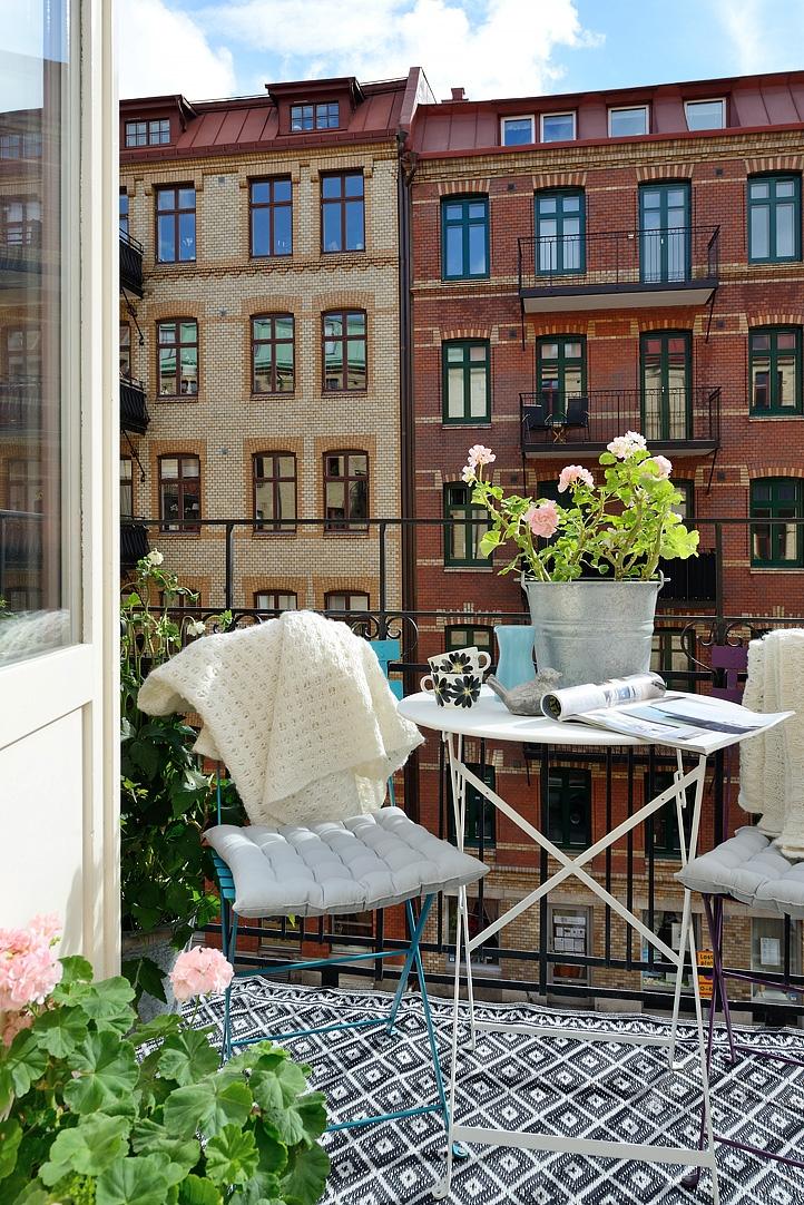 canho20 1481738052 Ấn tượng với mẫu căn hộ đầy màu sắc xóa tan mùa đông
