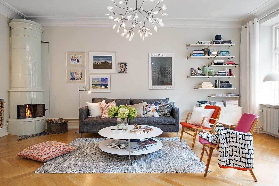 canho6 1481737870 Ấn tượng với mẫu căn hộ đầy màu sắc xóa tan mùa đông