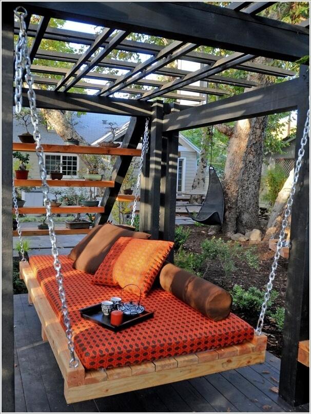 ngoai troi 9 1481645343 Cách thiết kế sáng tạo cho không gian nghỉ ngơi ngoài trời