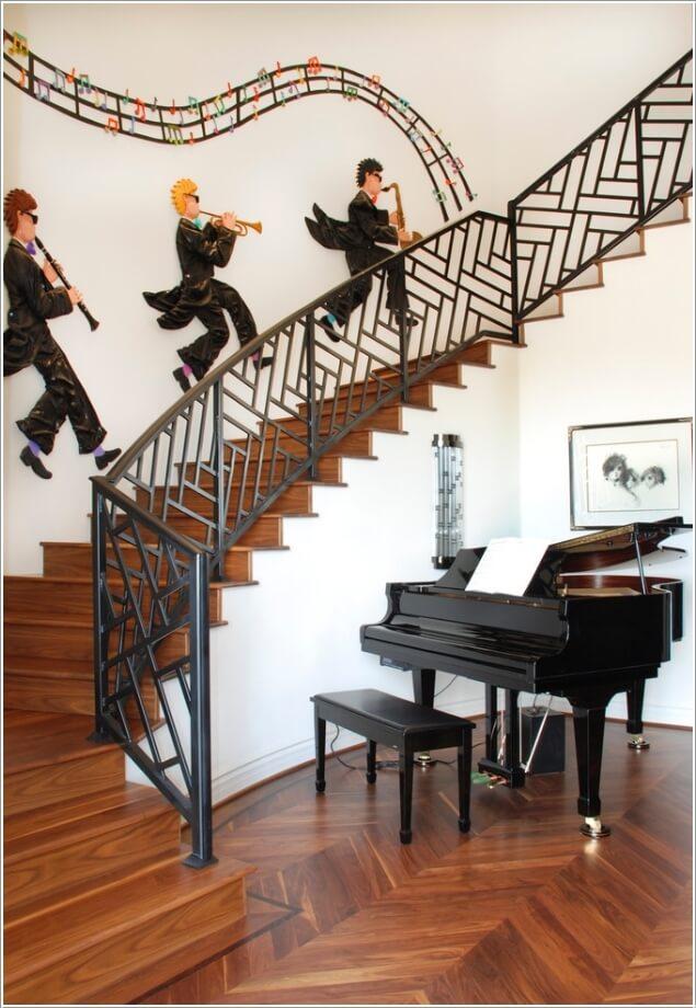 4 1482052750 10 cách để trang trí cầu thang tuyệt đẹp dành cho bạn