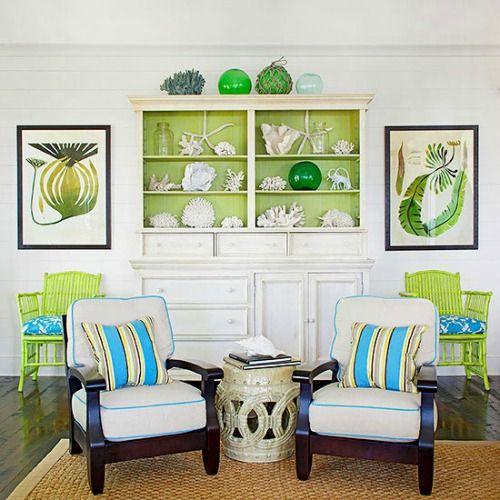 Sắc xanh – xu hướng màu sắc trong trang trí nội thất năm 2017