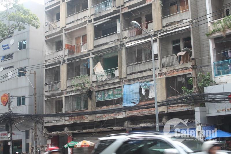 TP.HCM: Ủy quyền cho UBND quận cải tạo, xây mới chung cư cũ