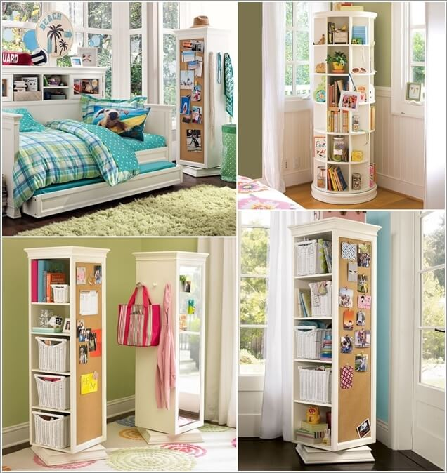 Ý tưởng lưu trữ thông minh cho phòng ngủ nhỏ