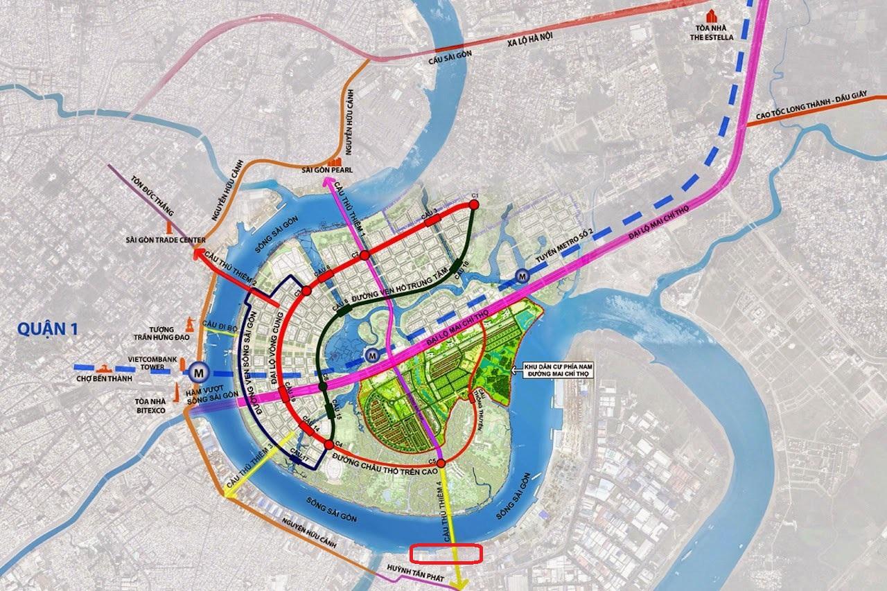 TP.HCM: Di dời cảng Tân Thuận, xây cảng mới tại Hiệp Phước và cầu Thủ Thiêm 4