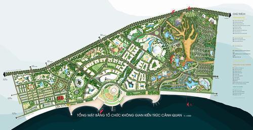 Bình Thuận: Duyệt quy hoạch 1/500 Trung tâm dịch vụ du lịch Hàm Tiến - Mũi Né