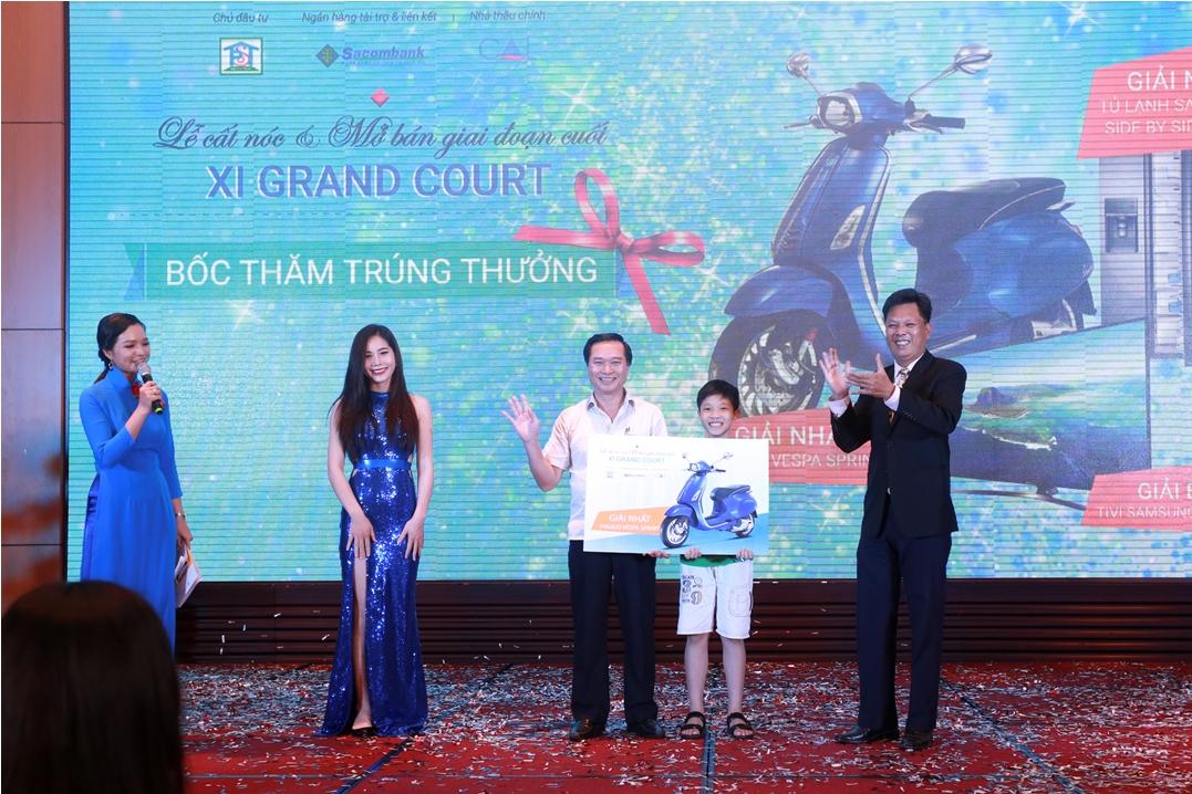 Xi Grand Court: Sức nóng từ dự án đang hoàn thiện