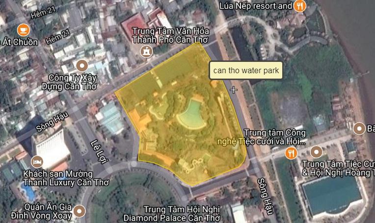 Cần Thơ: Xây công viên nước mới có khách sạn, resort, trung tâm mua sắm