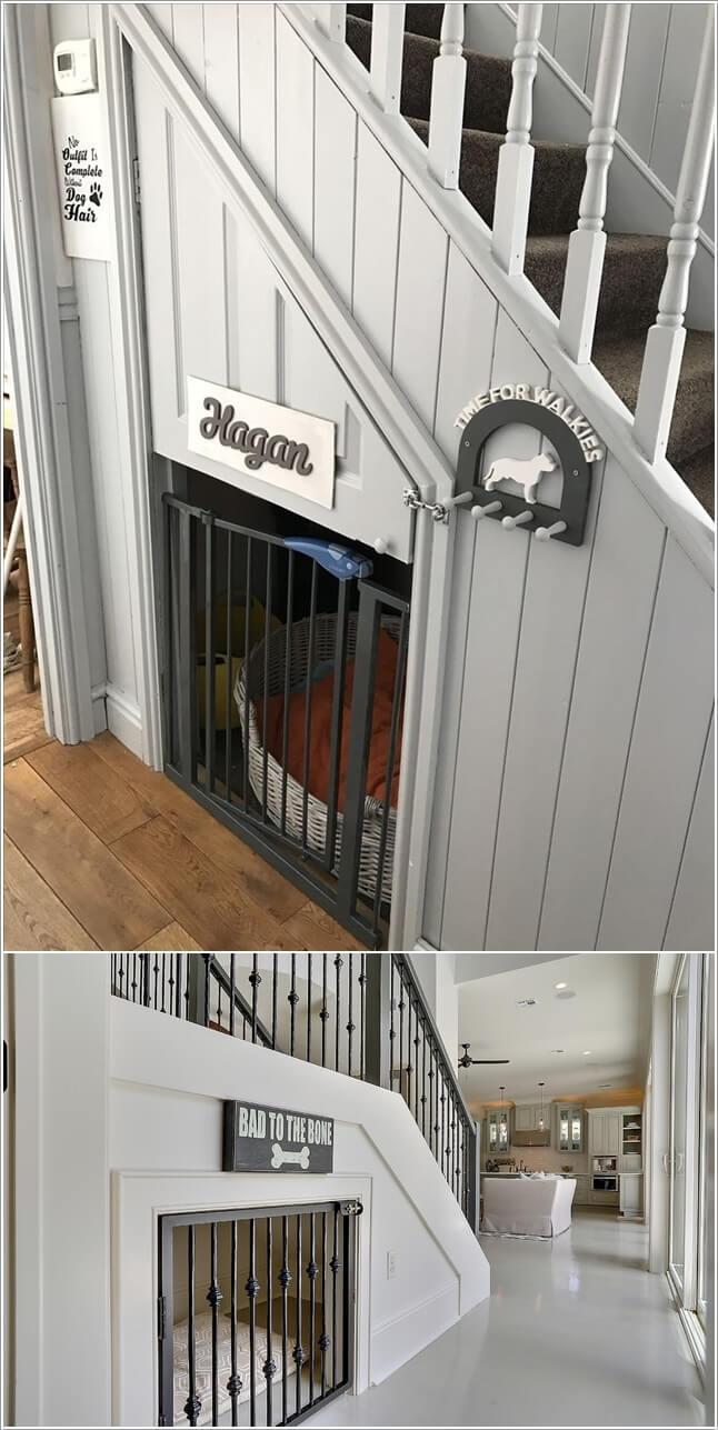 Tận dụng không gian lưu trữ dưới cầu thang
