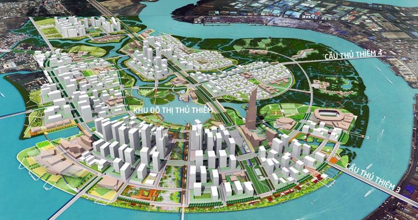 TP.HCM: Đổi 16 khu đất lấy cầu 5.200 tỷ nối quận 2 với quận 7