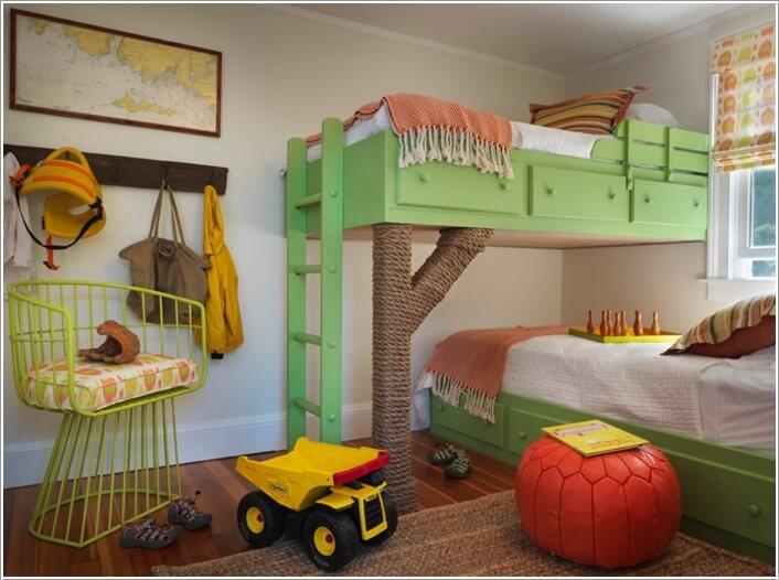 10 thiết kế giường tầng dành cho bé