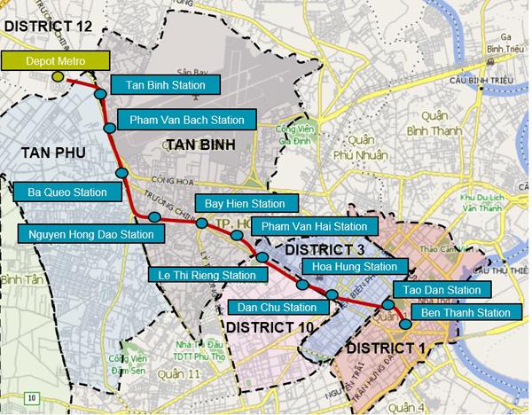TP.HCM công bố chính sách bồi thường dự án Metro số 2