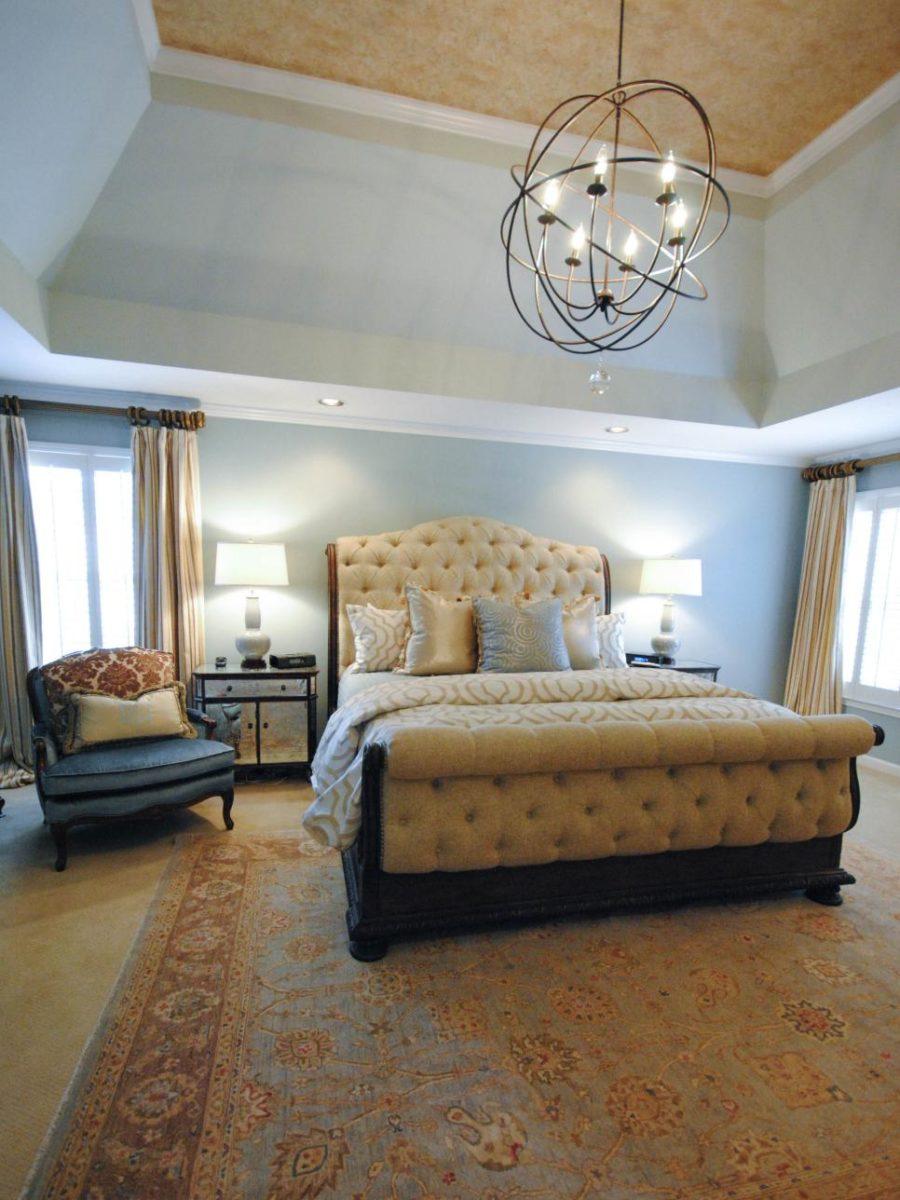 Đèn chùm – trang sức cho không gian phòng ngủ