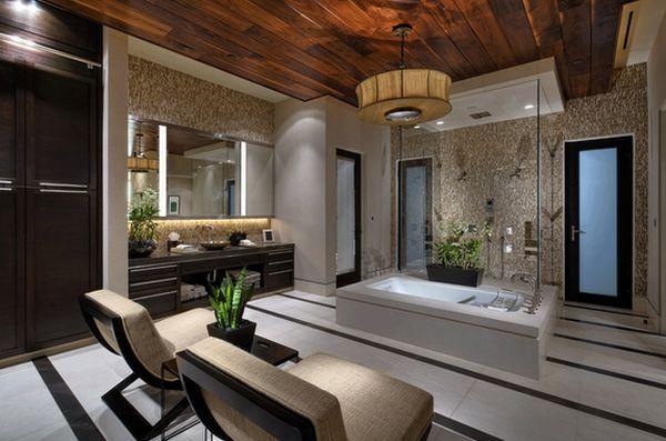 Thiết kế phòng tắm như spa tại nhà
