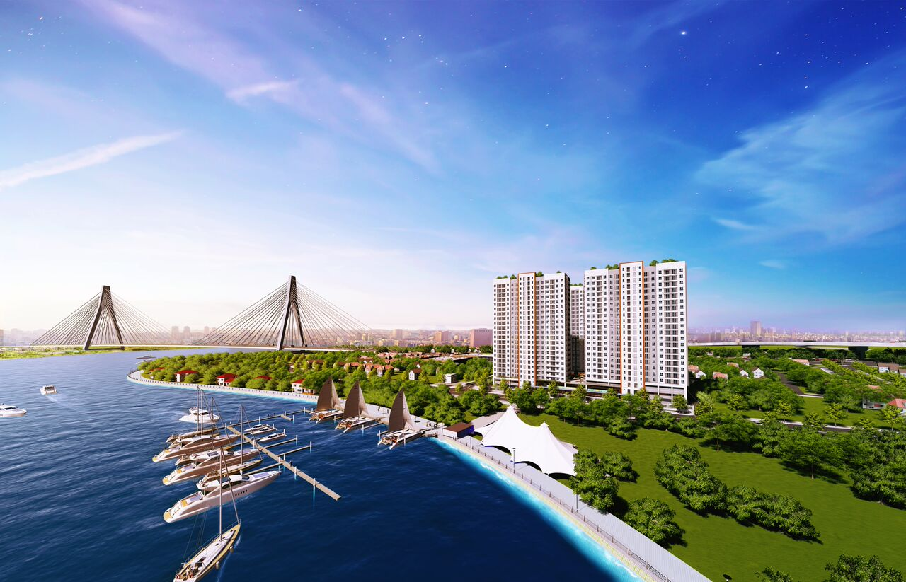Trả trước 140 triệu, có ngay căn hộ ở cửa ngõ Đông Sài Gòn, ngay trạm dừng Metro