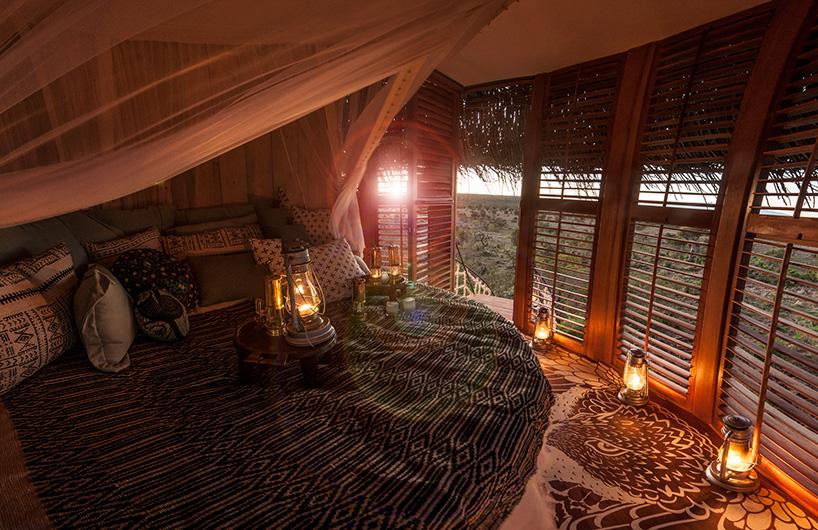 Khách sạn nghỉ dưỡng hình tổ chim ở Kenya