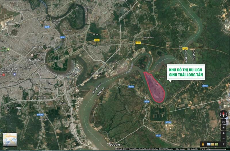 Đồng Nai: Duyệt quy hoạch Khu đô thị du lịch Long Tân 330ha giáp ranh TP.HCM