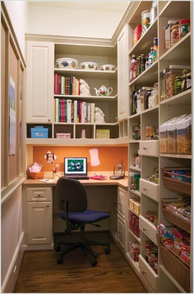Thiết kế văn phòng làm việc tại nhà