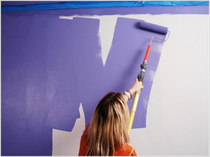Mẹo nhỏ khi sơn, trang trí nhà