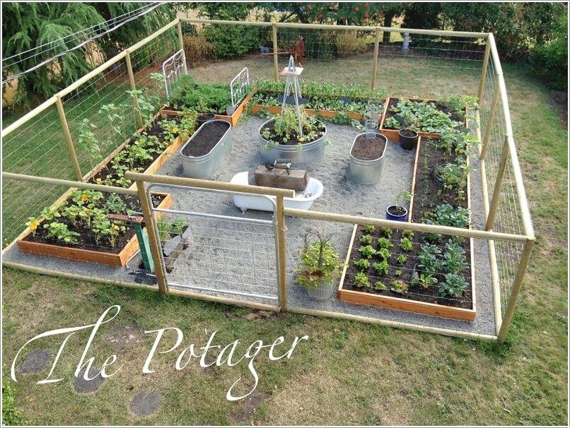 Ý tưởng thiết kế độc đáo cho khu vườn