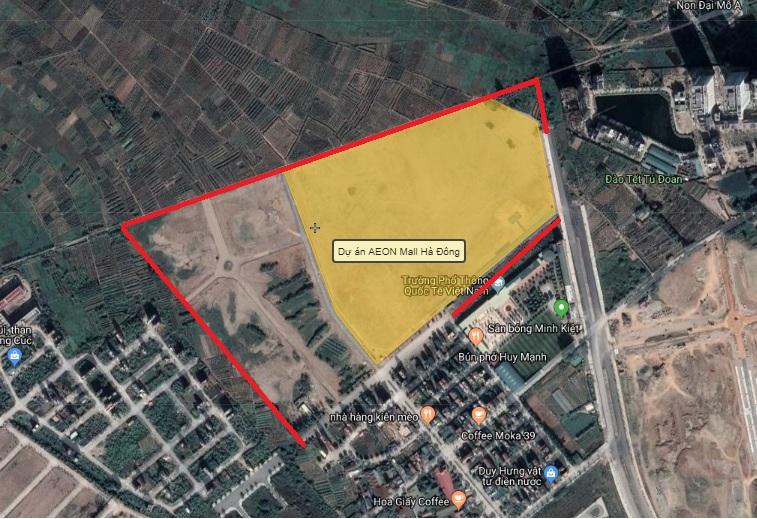 Hà Nội: Quy hoạch 4 tuyến đường bao quanh Bệnh viện Quốc tế Hà Đông và AEON Mall Hà Đông