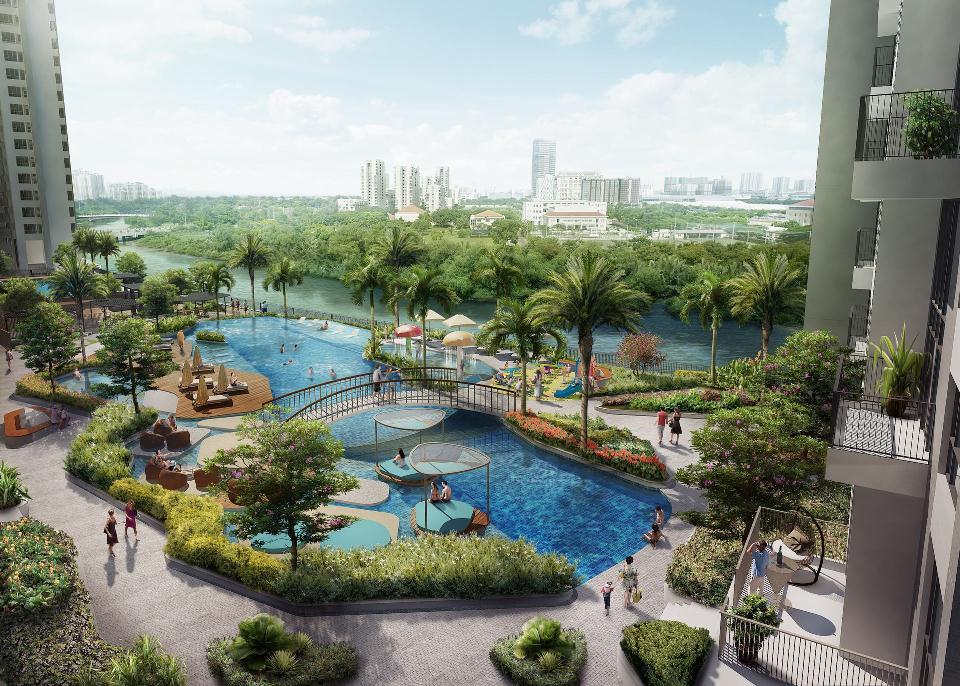 Cuộc đua tiện ích của các dự án tại Nam Sài Gòn